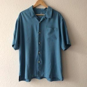Tommy Bahama Men Short Sleeve Button Down Shirt